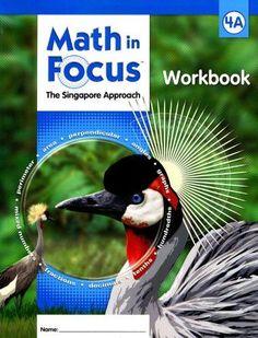 Math in Focus: A Singapore Approach- Student Workbook, Grade 4A