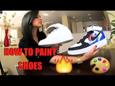 849d87b8c957a How To Paint Your Shoes Tutorial: Restore And Customize With Angelus Paint!  FULL Timelapse. Custom SneakersCustom ...