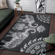 home accessories gift Grey Mandala Elephant Rug Elephantsity Deco Elephant, Elephant Room, Elephant Home Decor, Mandala Elephant, Elephant Design, Elephant Stuff, Elephant Bathroom Decor, Elephant Decorations, My Living Room