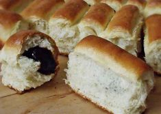 Hot Dog Buns, Hot Dogs, Easy Desserts, Dessert Recipes, Quick Meals, Bread, Food, Fast Meals, Fast Foods