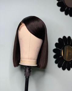 Short Hair Wigs, Human Hair Wigs, Baddie Hairstyles, Weave Hairstyles, Pretty Hairstyles, Wig Styles, Short Hair Styles, Birthday Hairstyles, Hair Ponytail Styles