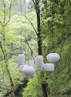 Summer Solstice lighting installation by Arturo Alvarez