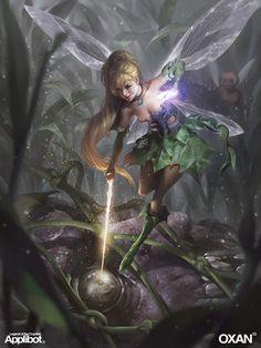Legend of the Cryptids Fairy fantasy fairytale Magical Creatures, Fantasy Creatures, Fantasy World, Fantasy Art, Kobold, Drawn Art, Elves And Fairies, Love Fairy, Beautiful Fairies