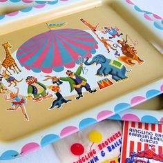 Vintage Circus Trays | Picnic by Ellie | Flickr