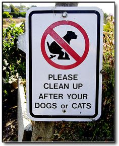 Go on walks with your dogs, but wherever you go, please clean up after your dogs or cats in #Marin County, California