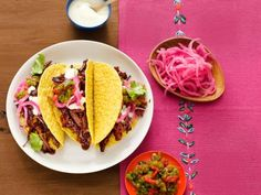 Make classic Mexican tacos and new takes on the crunchy favorites. Fill them with pork, shrimp, fried fish and more.