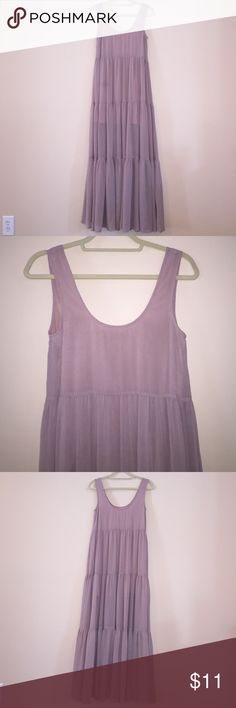 Does not fit! NEVER BEEN WORN! Lilac maxi dress from Urban Outfitters. Staring at Stars Dresses Maxi
