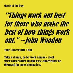 "Quote Of The Day Work Cool Careertrotter Quote Of The Day ""working Hard For Something We Don ."