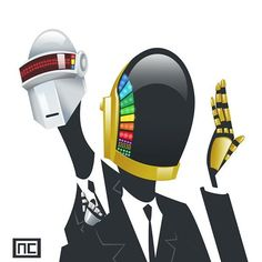 Nate Call: Daft Punk for Sketch Dailies
