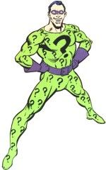 The Riddler as he appeared in the 50's