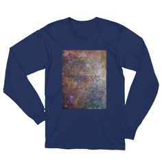 Etheric Life Rainbow Galaxy Tshirt #ethericlife #longsleeve #astronomy #astronomygifts #astrology #astrologygifts #geekgifts #scichic #sciencegifts #spacegifts