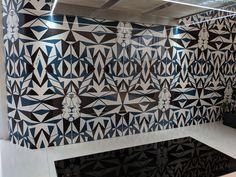 Glass Splashbacks, Designer Wallpaper, Kitchen Backsplash, Kitchen Design, Curtains, Interior Design, Projects, Prints, Home Decor