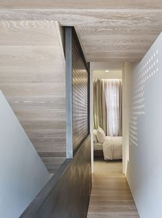 The Perf House Is a Renovated Georgian Terrace House In London by AMA - Design Milk Georgian Terrace, Georgian Townhouse, London Townhouse, Retail Store Design, Ground Floor, House Design, Lights, Contemporary, Architecture