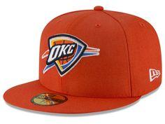 Oklahoma City Thunder New Era NBA Solid Team 59FIFTY Cap