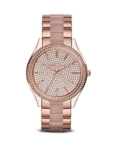 Michael Kors Slim Runway Glitz Watch, 42mm