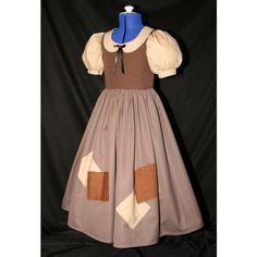 Snow White Rags Costume Child Size ($125) ❤ liked on Polyvore