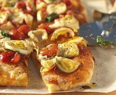 Sizilianische Pizza - Rezept - Saisonküche