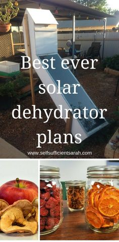 Best ever solar dehydrator plans!