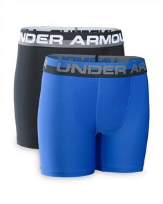 019e86398a Under Armour Boys  Original Series Boxerjock Boxer Briefs (Ultra Blue