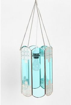 Blue Skies Glass Pendant Light - StyleSays