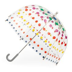 Totes Clear Bubble Umbrella for KIDS. Beautiful clear bubble umbrella with matching trim. Umbrella opens to a generous arc bubble. Colors CLEAR Blue or Clear PINK or CLEAR CLEAR (All colors are transparent). Totes Umbrella, Bubble Umbrella, Tween Girl Gifts, Tween Girls, Kids Bubbles, Kids Umbrellas, Purse Hook, Thing 1, Ballerinas