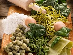 #prelibatezze del #Trentino, fatte con #prodottiakm0 : #spinaci, #farina e #uova #fresche