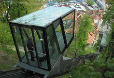 Üvegkocka sikló a szomszéd fővárosban - Ljubljana - kiránduló Gazebo, Outdoor Structures, Kiosk, Pavilion, Cabana