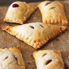 #delicious Raspberry Turnovers #foodie