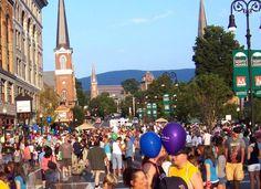 Street Festival in North Adams in the Berkshires