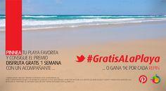 Universalplaces organiza el primer concurso en Pinterest, #GratisALaPlaya