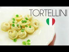 polymer clay Tortellini TUTORIAL | polymer clay food - YouTube