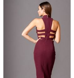 Crop top with Cuts out Back - Crimson Out Back, Jumpsuit, Crop Tops, Dresses, Fashion, Overalls, Vestidos, Moda, Monkeys