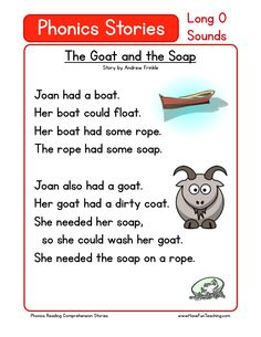 This Reading Comprehension Worksheet - The Goat and the Soap is for teaching reading comprehension. Use this reading comprehension story to teach reading comprehension.