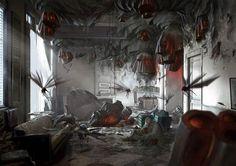 Dishonored 2 Concept Art - Bloodflies Nest