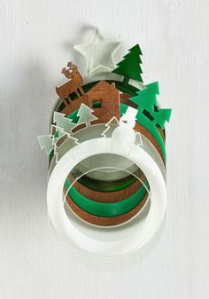Festive Feasting Napkin Rings - From The Home Decor Discovery Community At www.DecoandBloom.com