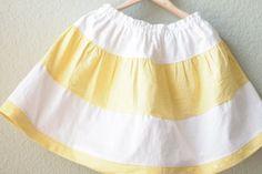 Make It Handmade: Sunshine Skirt