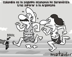 Com PIB superior ao da Argentina, Colômbia se torna o 2º maior da América do Sul
