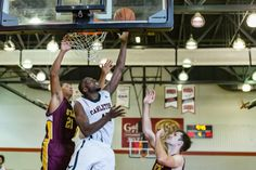 Can-Am Shootout: Men's Basketball between the St. Thomas Aquinas College and the Carleton Ravens held on Aug 28, 2016 at The Ravens Nest @ Carleton University. Photo: Marc Lafleur