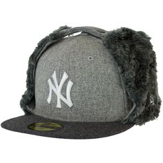 New Era Melton Dog Ear Cap NY Yankees - entdeckt im Harlem Streetwear Shop! 9f08fd1cd51c