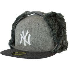 New Era Melton Dog Ear Cap NY Yankees ★★★★★