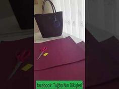 Keçeden çanta yapımı - YouTube