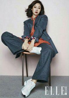 Kong Hyo Jin for Elle, Korea 2015