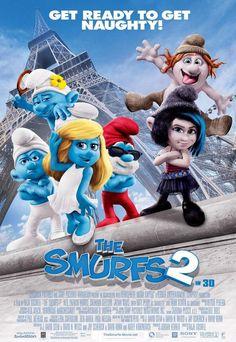 The Smurfs 2 Movie Poster | Şirinler 2 Film Posteri