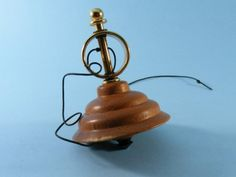 Wooden Spinning Top Spinning Top Toy with String and by AmysWoods, $19.00