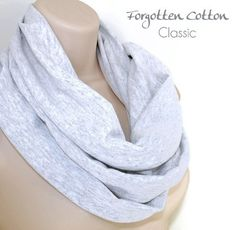 Shoply.com -Infinity Scarf Light Heather Grey. Only $20.00