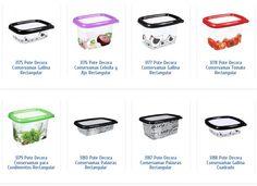Herméticos plásticos en lindos diseños, hechos con materiales libres de BPA!