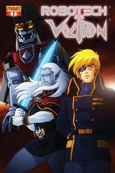 Robotech/Voltron cover #1