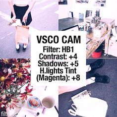 Part 1: 84 of the BEST Instagram VSCO Filter Hacks - Beauty and Lifestyle Blog on Makeup, Skincare, Reviews, Anti-Aging, Whitening, Fitness,and Food