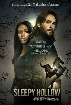 Sleepy Hollow Poster--Goes for the feel of a summer movie poster, complete with critic blurbs. It's more like a direct-to-video rental, but still works. B