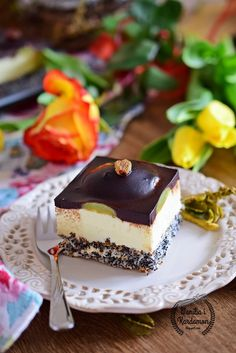 Polish Recipes, Polish Food, Tiramisu, Ale, Cheesecake, Food And Drink, Pudding, Tasty, Cookies